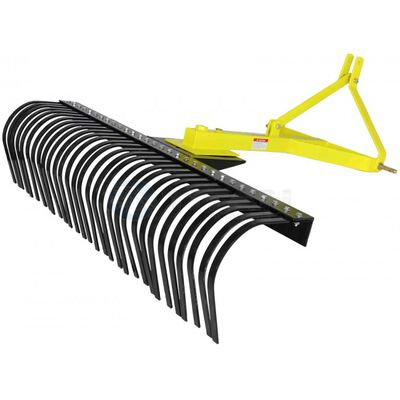 Landscape Rake Three Point Attachment | Optional Wheel Kit