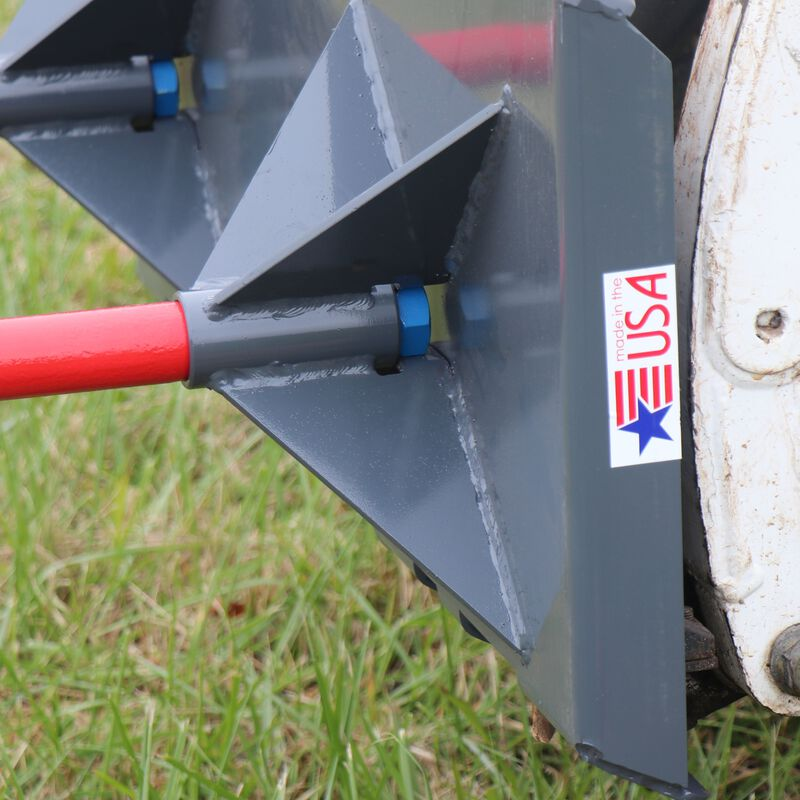 UA Made in the USA | Dual Hay Bale Spear Mount Plate