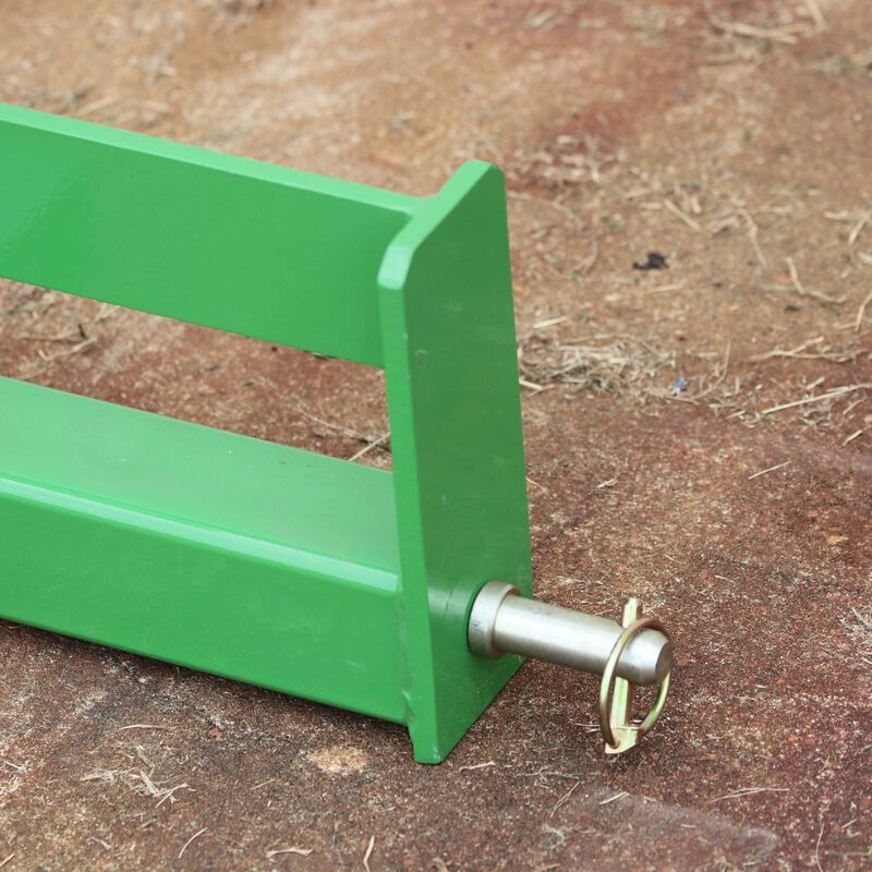 """Tractor Drawbar with Suitcase Weight Brackets 