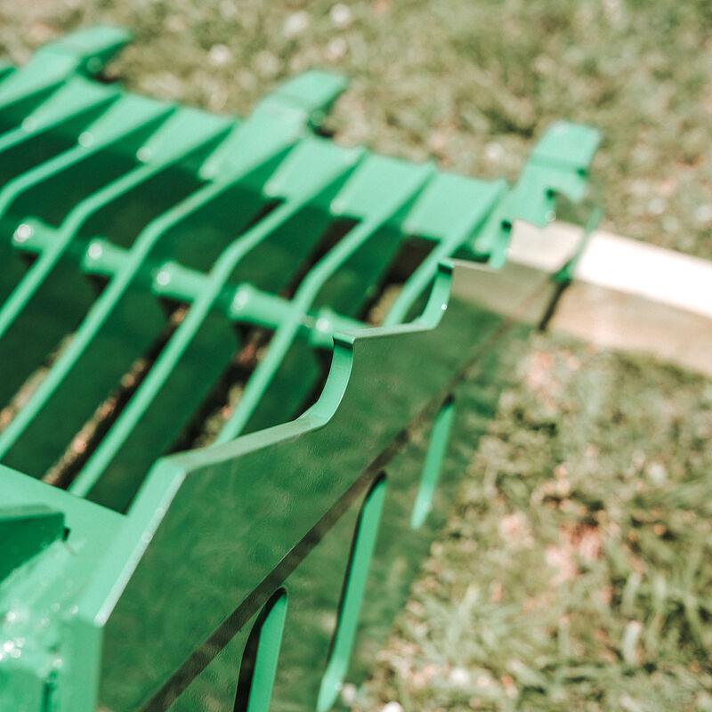 48-in Fine Grade Skeleton Rock Bucket w/ Teeth For John Deere Loader