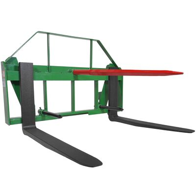 "42"" Pallet Fork Hay Bale Spear Attachment Fits John Deere Global Euro Loaders"