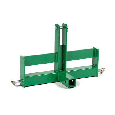 Tractor Drawbar With Suitcase Weight Brackets, 2-in Receiver, Cat 1, 3 Point