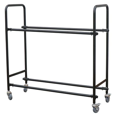 Tire Storage Rack with Caster Wheels