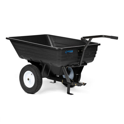650 LB Economy Poly Dump Cart