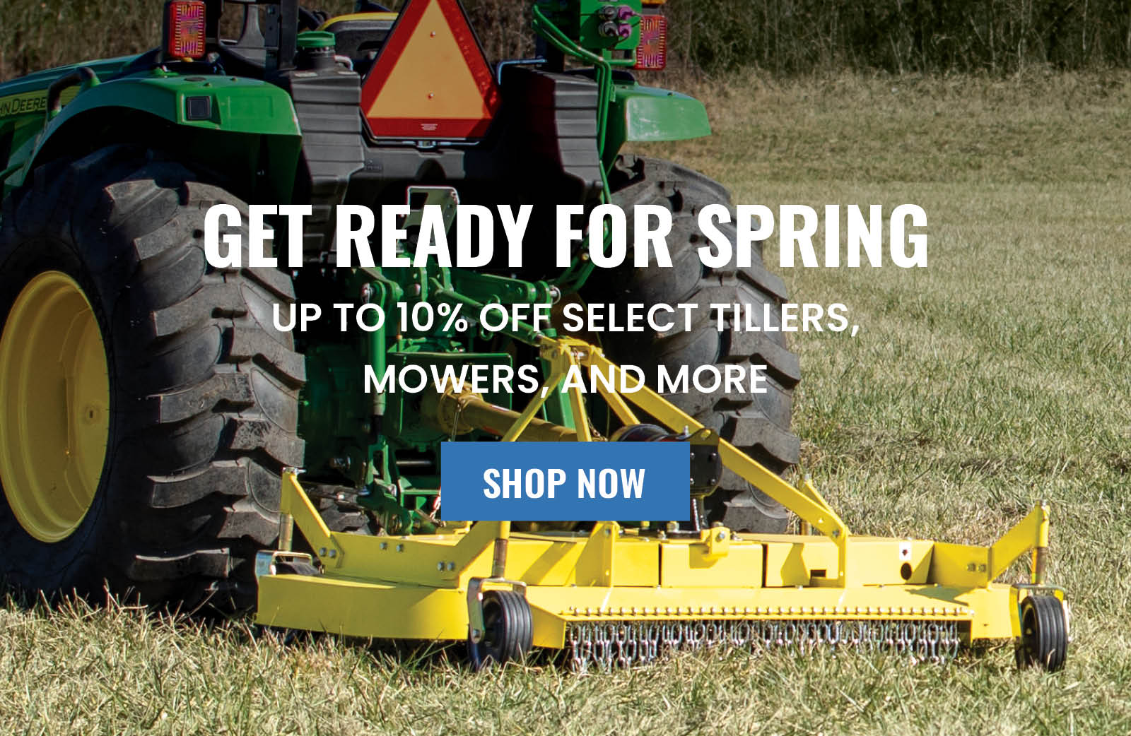 Get Ready For Spring Sale - Save Up To 10% OFF Select Skid Steer and Tractor Attachments