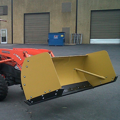 Skid Steer Snow Pushers and Plow Attachments