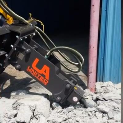 Skid Steer Concrete Breaker Attachments