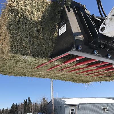 Skid Steer Hay Handling Attachments